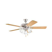 Kichler Lighting Sutter Place Premier 3 Light Fan in Brushed Stainless Steel 339400BSS