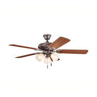 Kichler 339400OBB Sutter Place Premier Oil Brushed Bronze with Walnut Ms97503 Blades Fan alternative photo thumbnail