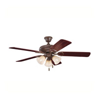 Kichler Lighting Sutter Place Premier 3 Light Fan in Tannery Bronze 339400TZ