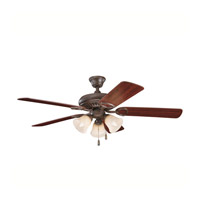 Kichler Lighting Sutter Place Premier 3 Light Fan in Tannery Bronze 339400TZ alternative photo thumbnail