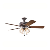 Kichler Lighting Saxon Premier 4 Light Fan in Oil Brushed Bronze 339401OBB alternative photo thumbnail