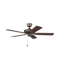 Kichler Lighting Sterling Manor Patio Fan in Weathered Copper Powder Coat 339520WCP