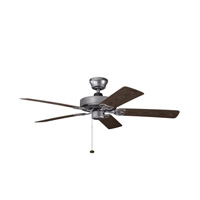 Kichler Lighting Sterling Manor Patio Fan in Weathered Steel Powder Coat 339520WSP