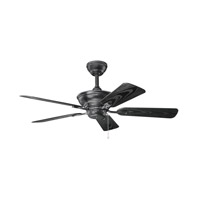 Kichler Trent Fan in Satin Black 339524SBK