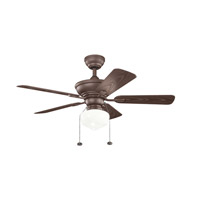 Kichler Trent Fan in Tannery Bronze Powder Coat 339524TZP