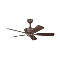Kichler Trent Fan in Weathered Copper Powder Coat 339524WCP