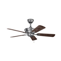 Kichler Trent Fan in Weathered Steel Powder Coat 339524WSP