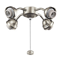Kichler 350005NI Signature 4 Light Brushed Nickel Fan Fitter photo thumbnail