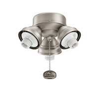 Kichler Lighting 3 Light Turtle Fitter Fan Fitter in Antique Pewter 350010AP