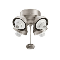 Kichler Lighting 4 Light Turtle Fitter Fan Fitter in Antique Pewter 350011AP