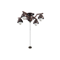 Kichler Lighting 4 Arm Decorative Fitter Fan Fitter in Oil Brushed Bronze 350104OBB
