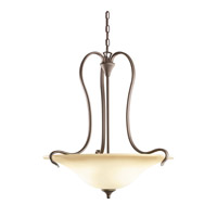 Kichler Lighting Wedgeport 3 Light Inverted Pendant in Olde Bronze 3586OZ photo thumbnail