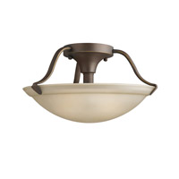 Kichler Lighting Signature 2 Light Semi-Flush in Olde Bronze 3620OZ photo thumbnail