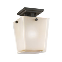 Kichler Lighting Urban Ice 1 Light Semi-Flush in Olde Bronze 3659OZ