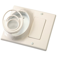 Kichler 370011ALM Independence Almond Fan Wall Plate