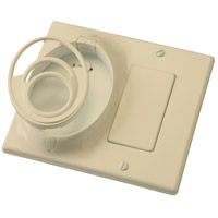 Kichler 370011IV Independence Ivory (Not Painted) Fan Wall Plate