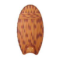 Kichler Lighting Climates Fan Blade Set in Natural Bamboo 370019