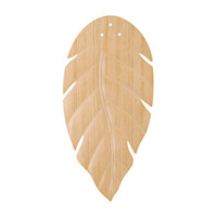 Kichler 370021 Climates Oak 22 inch each Fan Blade Set, ABS