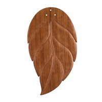 Kichler 370022 Climates Oak 25 inch each Fan Blade Set, ABS