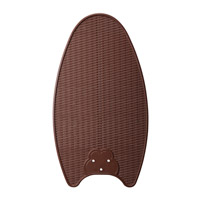 Kichler Lighting Chocolate Wicker ABS Blade Set Fan Blade Set in Woven Wicker 370024 photo thumbnail