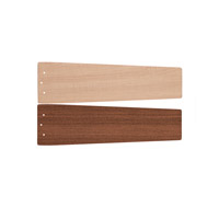 Kichler 370025PN Arkwright Maple/Sapelle Set Fan Blade Set in Polished Nickel