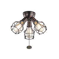 Kichler Fan Accessories 3 Light Fan Light Kit in Oil Brushed Bronze 370041OBB