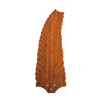 Kichler 371022 Climates Walnut 22 inch each Fan Blade Set, Wood