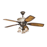 Kichler Lighting Golden Iridescence 3 Light Fan Light Kit in Oiled Bronze 380003OLZ photo thumbnail