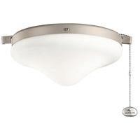 Kichler 380010ANS Independence LED Antique Satin Silver Fan Light Kits in 2700K