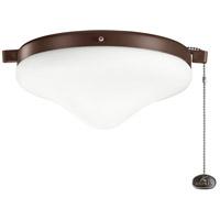 Kichler 380010CMO Independence LED Coffee Mocha Fan Light Kits in 2700K