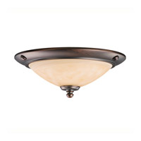 Kichler Lighting Universal Light Fixture Fan Light Kit in Oil Brushed Bronze 380107OBB