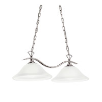 Kichler Lighting Signature 2 Light Island Light in Chrome 3802CH