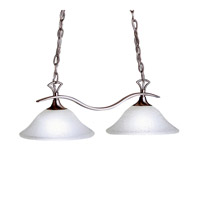 Kichler Lighting Dover 2 Light Island Light in Brushed Nickel 3802NI photo thumbnail