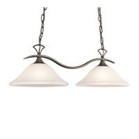 Kichler Lighting Nicholson 2 Light Island Light in Olde Bronze 3802OZS photo thumbnail