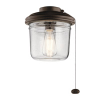 Kichler 380915TZP Yorke LED Tannery Bronze Powder Coat Fan Light Kits