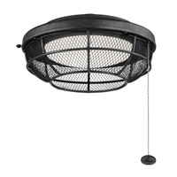 Kichler 380952DBK Signature 1 Light Distressed Black Fan Light Kit