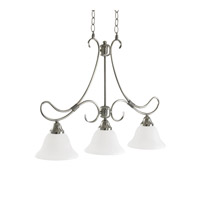 Kichler Lighting Stafford 3 Light Island Light in Antique Pewter 3856AP
