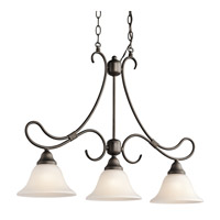 Kichler Lighting Stafford 3 Light Island Light in Olde Bronze 3856OZ