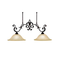 Kichler Lighting Wilton 2 Light Island Light in Carre Bronze 3894CZ photo thumbnail