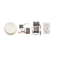 Kichler 3R400MWH Independence Matte White Fan Cooltouch Control System