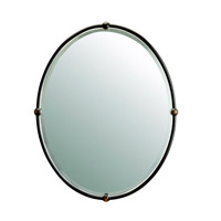 Kichler 41006OZ Signature 30 X 24 inch Olde Bronze Wall Mirror, Oval photo thumbnail