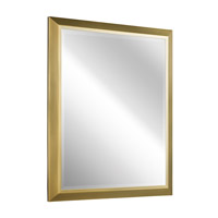 Kichler 41011NBR Signature 30 X 24 inch Natural Brass Mirror Home Decor, Rectangular