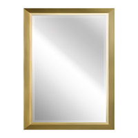 Kichler 41011NBR Signature 30 X 24 inch Natural Brass Wall Mirror, Rectangular alternative photo thumbnail
