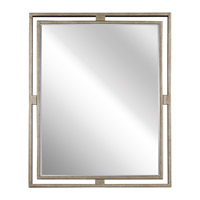 Hendrik 30 X 24 inch Sterling Gold Mirror Home Decor, Rectangular
