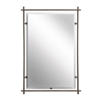 Kichler 41096OZ Eileen 39 X 27 inch Olde Bronze Wall Mirror Home Decor, Rectangular photo thumbnail