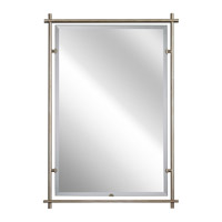 Eileen 39 X 27 inch Sterling Gold Mirror Home Decor, Rectangular