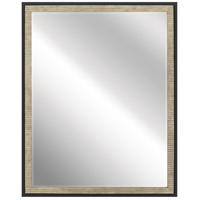 Millwright 30 X 24 inch Distressed Antique Gray Wall Mirror