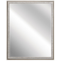 Millwright 30 X 24 inch Rubbed Gray Wall Mirror