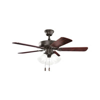 Kichler Basics Revisited 3 Light Fan in Satin Natural Bronze 413SNB