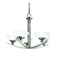 Kichler Lighting Palla 5 Light Chandelier in Polished Nickel 42001PN